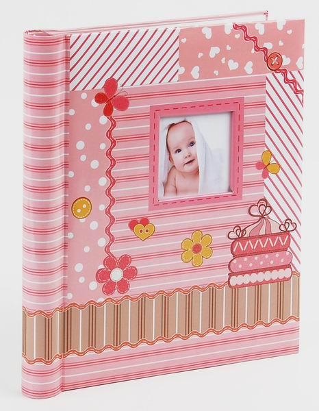 Fotoalbum samolepící DRS-20 Toddler růžový
