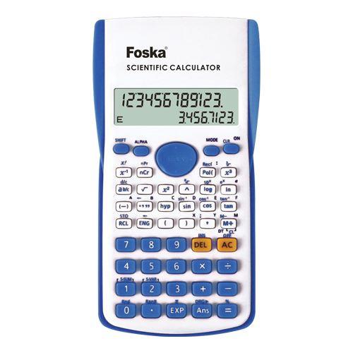 Kalkulačka vědecká 240 funkcí FOSKA CC3000-1