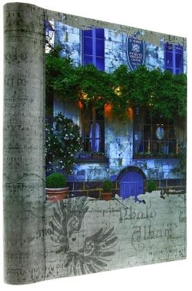 Fotoalbum samolepící DRS-30 Nostalgia modrý dům