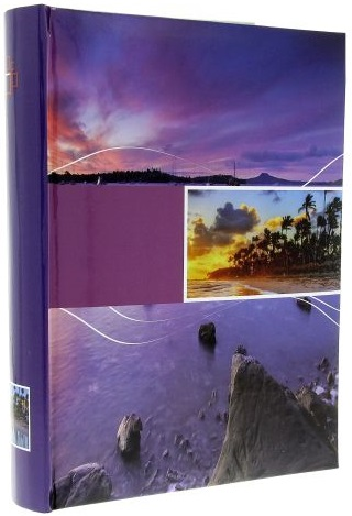 Fotoalbum 10x15/300foto B-46300 Infinity fialový