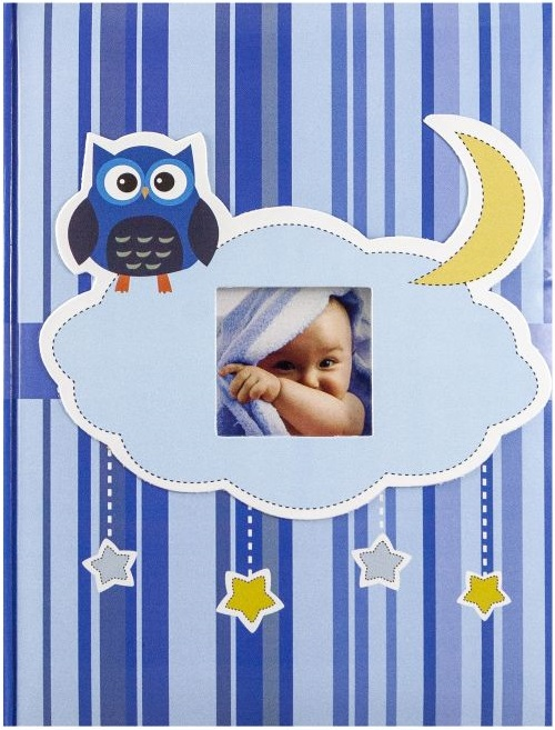 Fotoalbum 9x13/200foto B-35200S Owl modrý