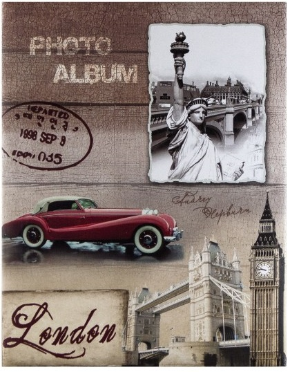 Fotoalbum 10x15/300foto MM46300 Old time London