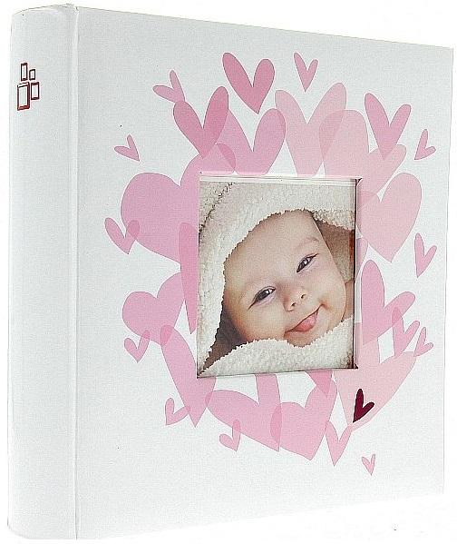 Fotoalbum 10x15/200foto Vital růžový