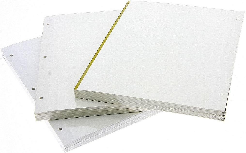 Listy na fotoalba samolepící k DRS-50 50 ks