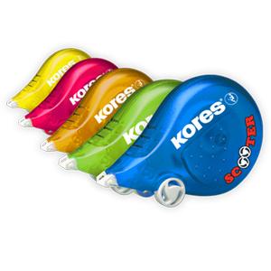 Korekční strojek Scooter in colours