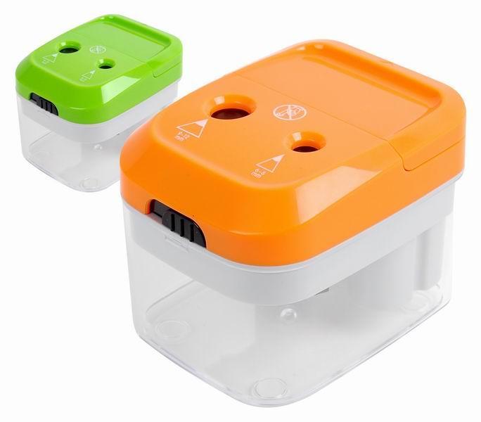 Ořezávátko elektrické dvojité Cayman oranžové