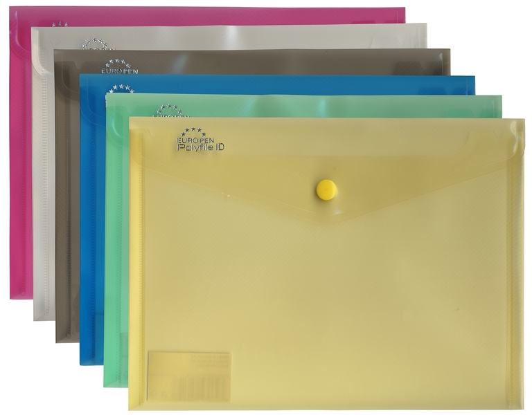 Desky s drukem Europen A4 Mix barev Barva: Modrá