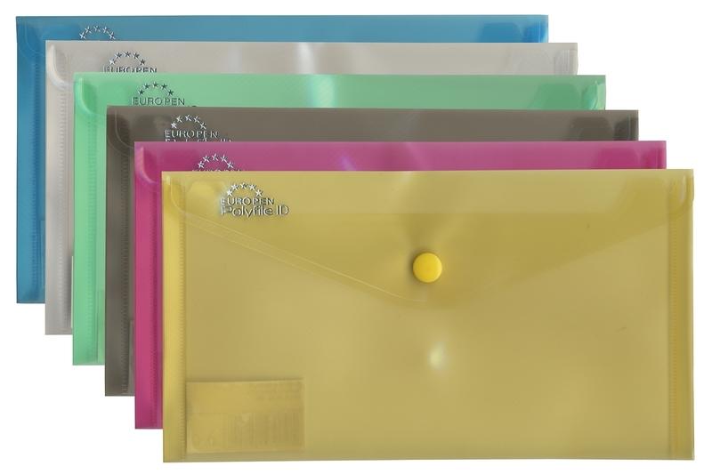 Desky s drukem Europen DL Mix barev Barva: Modrá