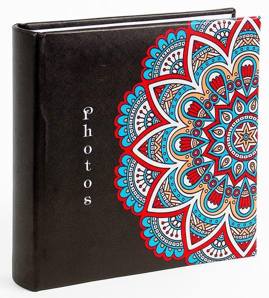 Fotoalbum 10x15/200foto KD-46200 Mandala 2 černé - 2 POSLEDNÍ KUSY -