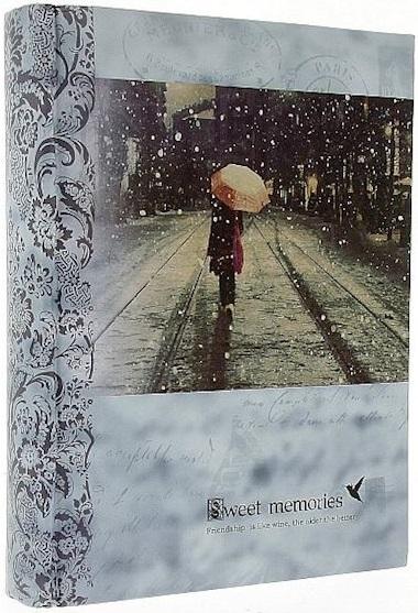 Fotoalbum 10x15/200foto B-46200S Time deštník