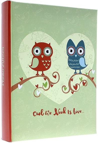 Fotoalbum 10x15/300foto B-46300 Owlwe We Needs is love