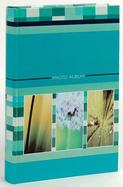 Fotoalbum 10x15/300foto B-46300S Drops 2 zelené