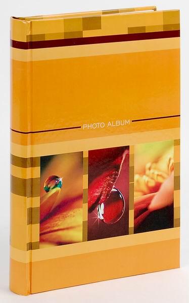 Fotoalbum 10x15/300foto B-46300S Drops 3 oranžové