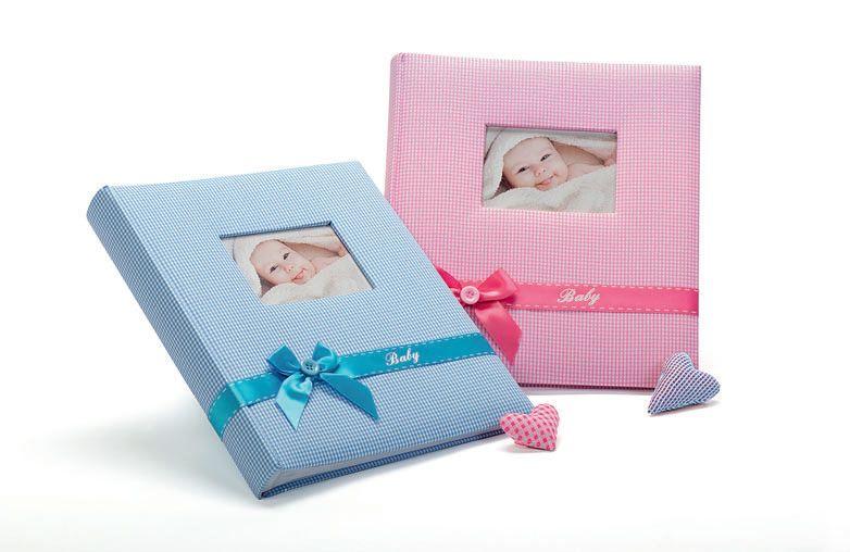 Fotoalbum na fotorůžky FA-919 BABY´S KISS modrý