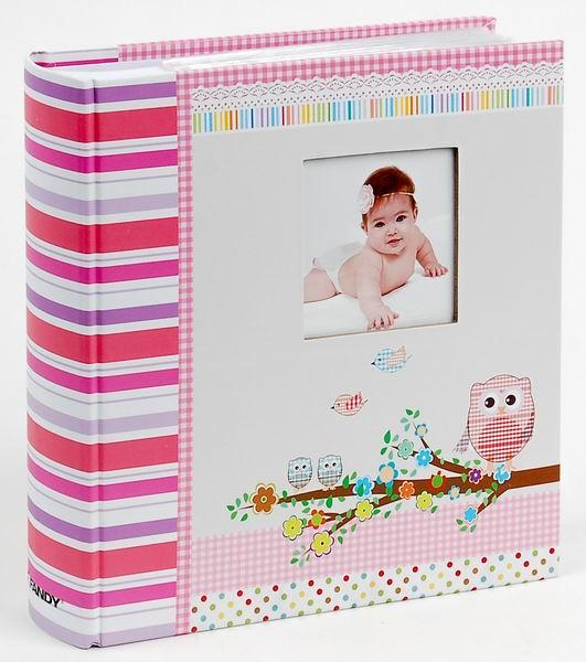 Fotoalbum 10x15/200foto KD-46200B Owlet 2 růžové
