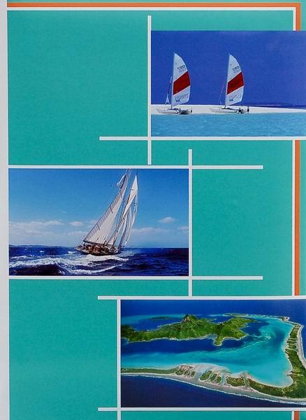Fotoalbum 10x15/300foto B-46300/2S Gleam 1 tyrkysové
