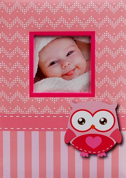 Fotoalbum 10x15/300foto B-46300/2SB Wink 2 růžové