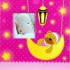 Fotoalbum 10x15/200foto Baby 35 růžový