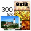 Fotoalbum 9x13/300foto B-35300(V) vinyl hnědý