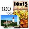 Fotoalbum 10x15/100foto MM-46100 Vinyl hnědý