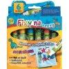 Fixy na textil 6 odstínů - 2 POSLEDNÍ KUSY -