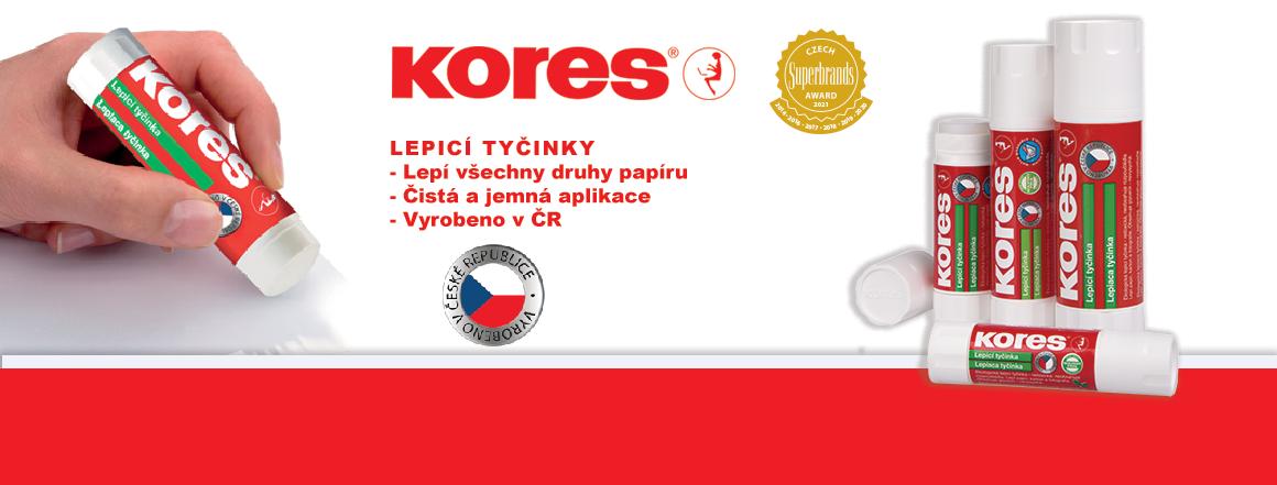 KORES - lepící tyčinky