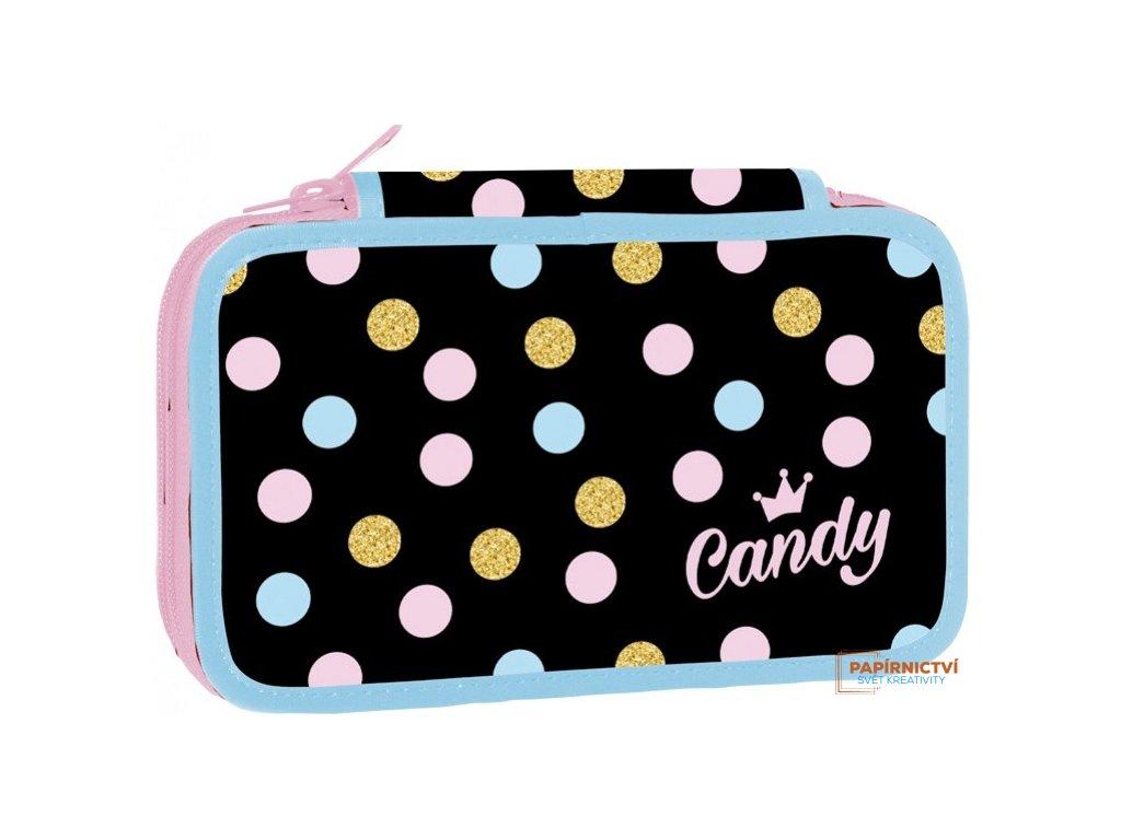 Školní penál dvoupatrový Candy