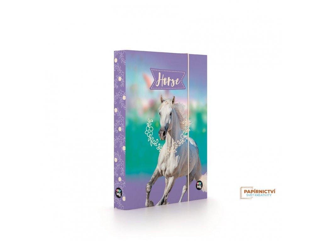 Box na sešity A5 Kůň