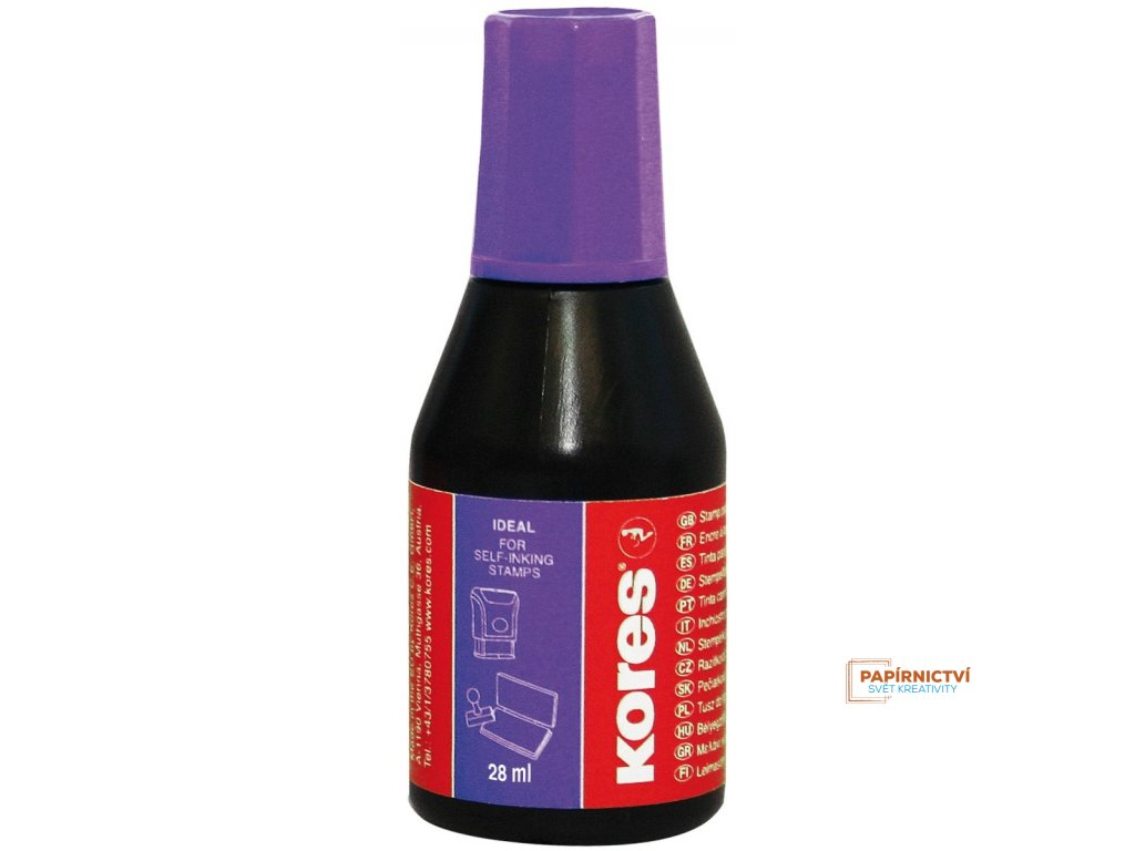 71348 stamp ink purple