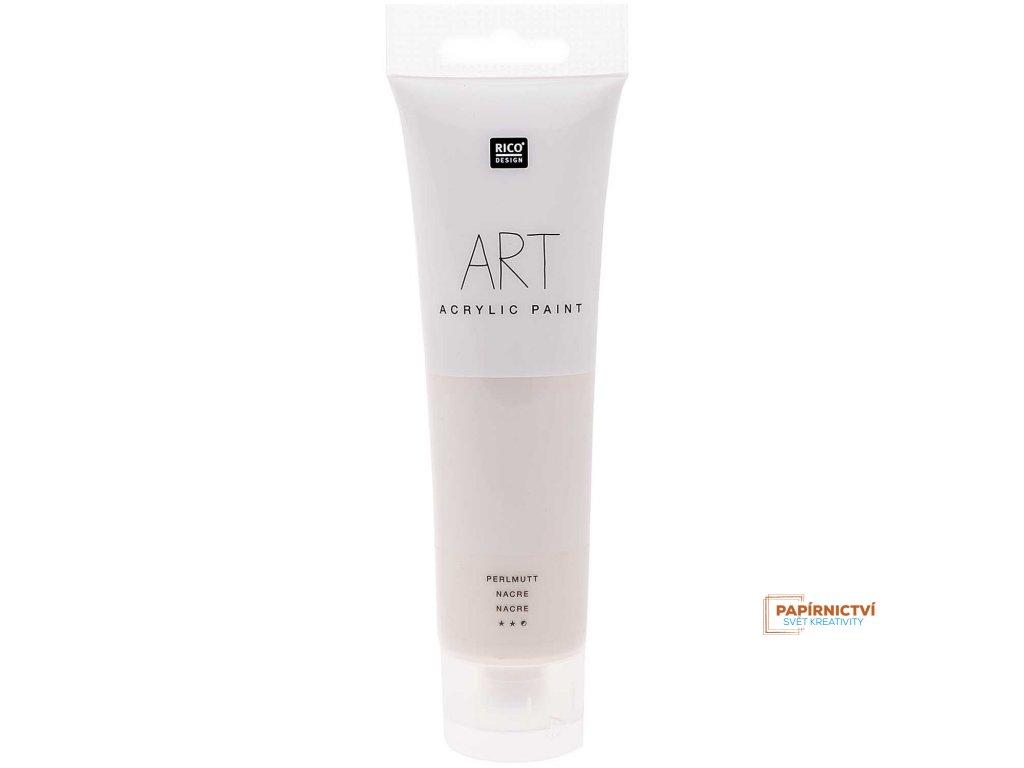 Akrylová barva 100ml perleť