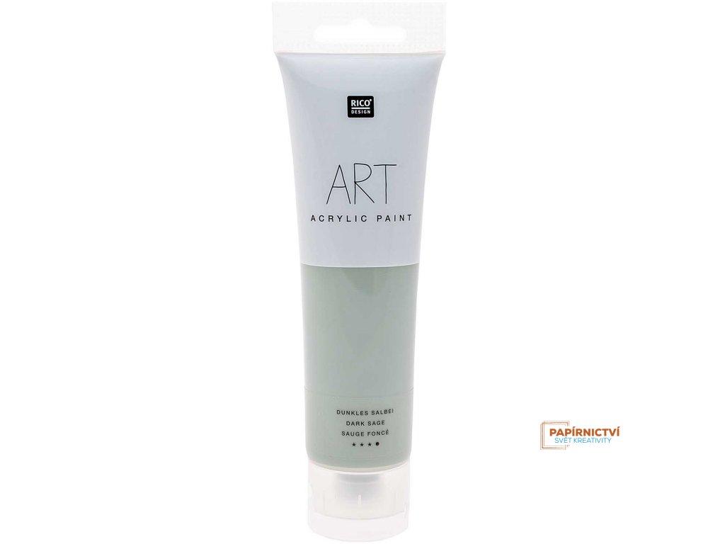 Akrylová barva 100ml temná šalvěj