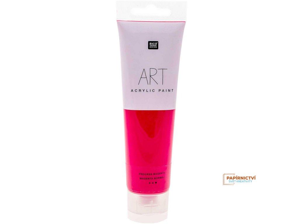 Akrylová barva 100ml procesní purpurová