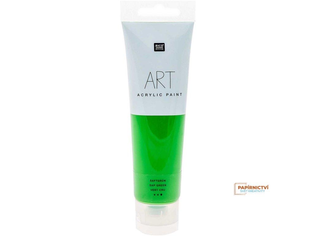 Akrylová barva 100ml chutná zelená