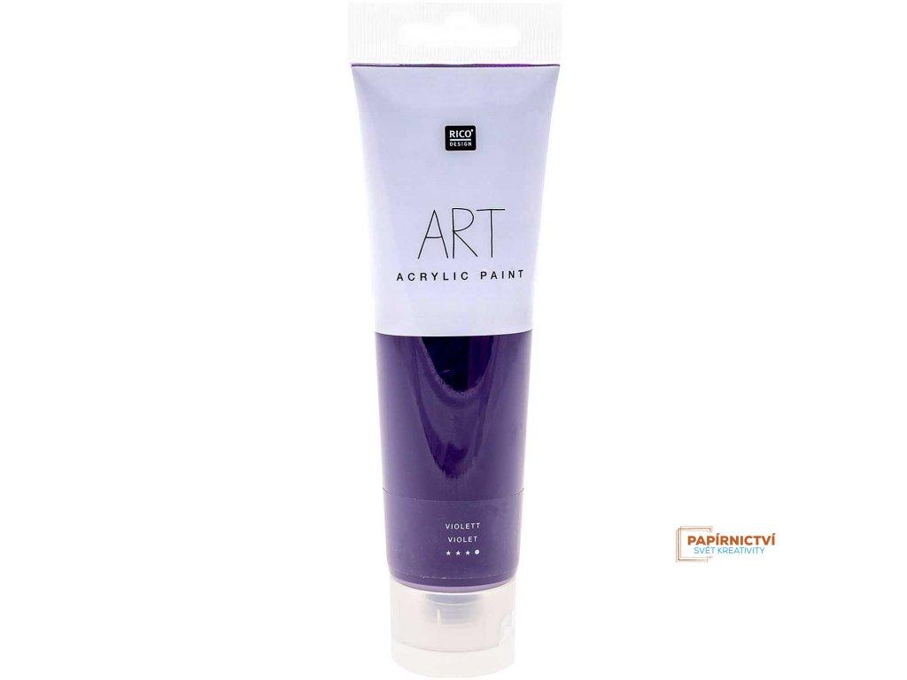 Akrylová barva 100ml fialová