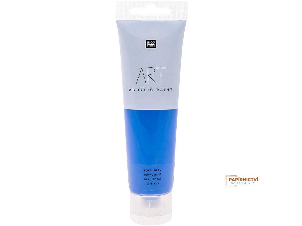 Akrylová barva 100ml královská modrá