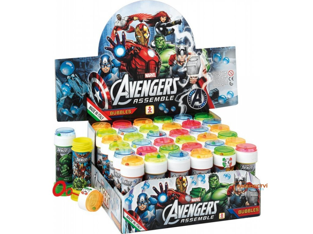Bublifuk 60ml Avengers