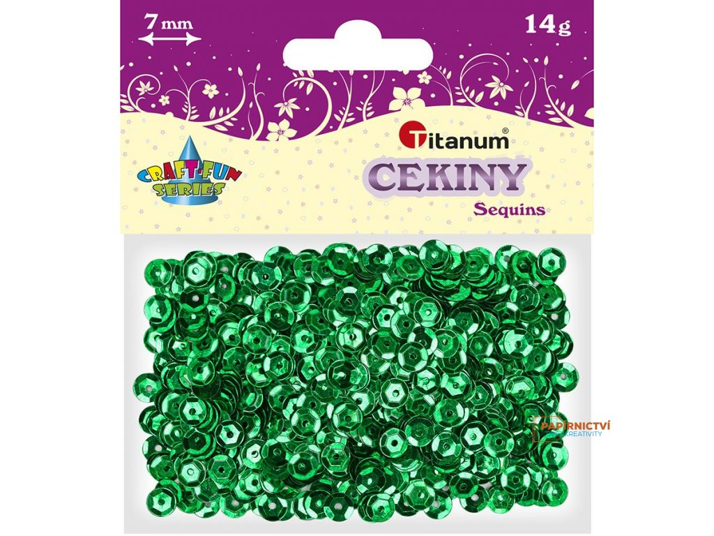 Flitry, 7mm/14g, zelené