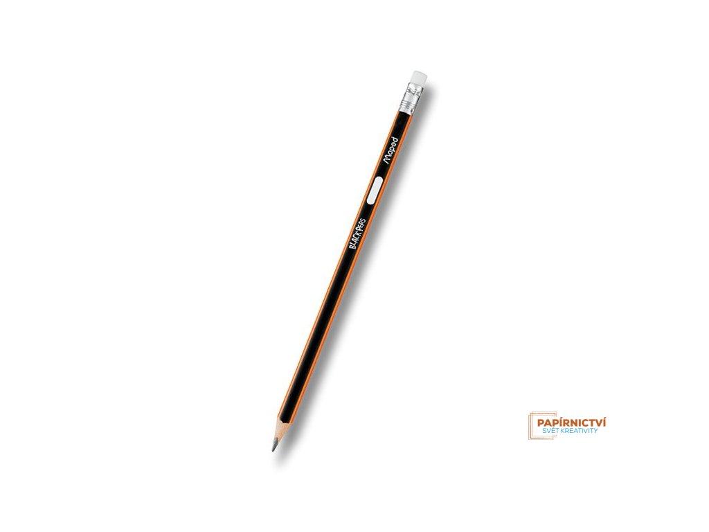 Grafitová tužka MAPED B s pryží