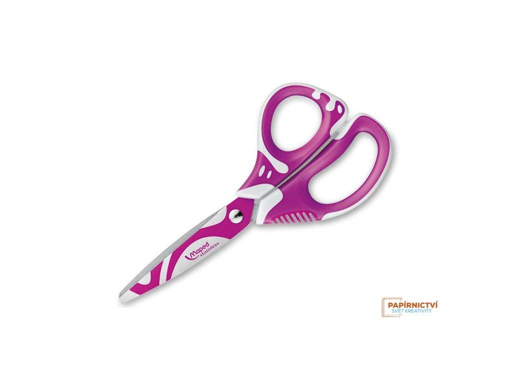 Nůžky MAPED Zenoa fit 13cm asymetr. mix barev