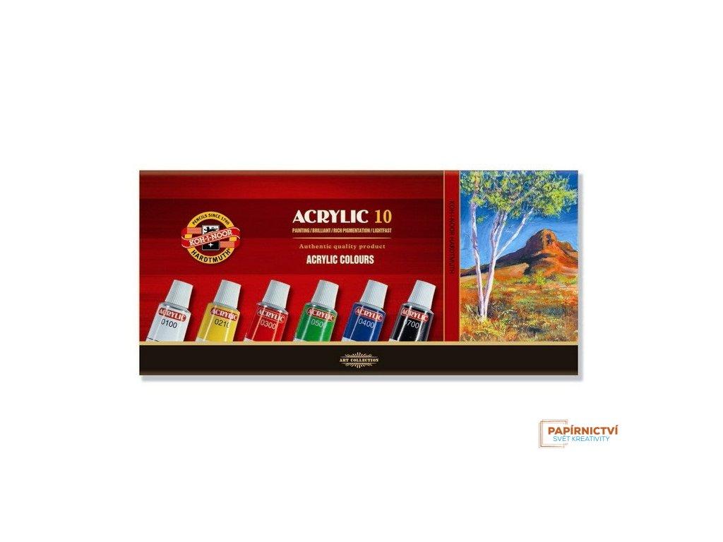 Souprava barvy 162703/10 akrylové 16ml