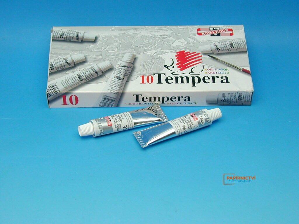 Temperová barva 16 ml stříbrná