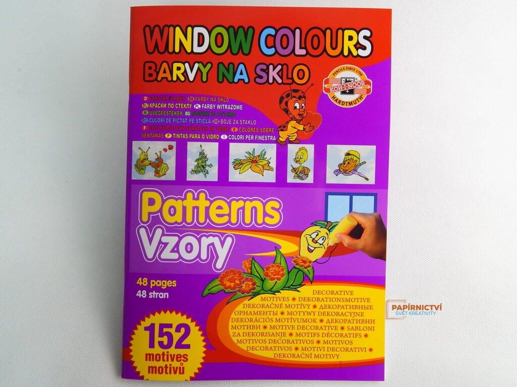 Šablony na barvy na sklo