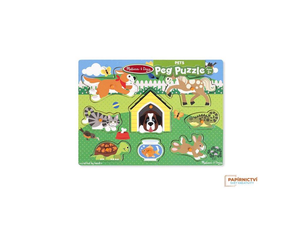 92D0000101 mds19053 drevene puzzle domaci