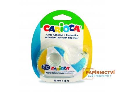 42885 CARIOCA Adhesive Tape Blister 1 pc