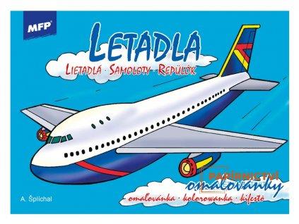 Omalovánka MFP letadla