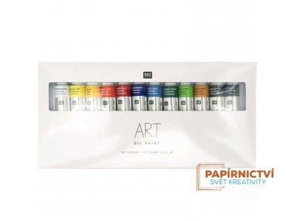 Sada olejových barev 12x12ml