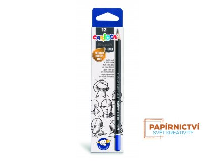 42946 CARIOCA Black Pencils HB 2 Box 12 pcs