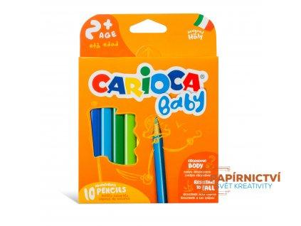 42819 CARIOCA BABY Baby Pencil 2+ Box 1 10 pcs