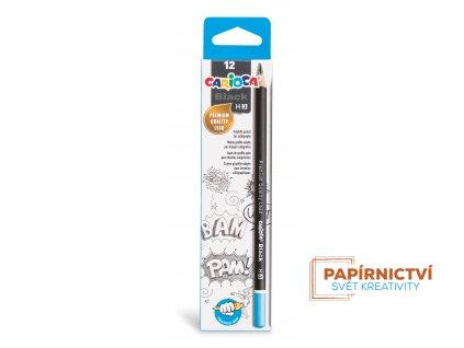 42929 CARIOCA Black Pencils HB 3 Box 12 pcs