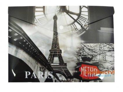 Psaníčko s drukem A4 potisk Paris